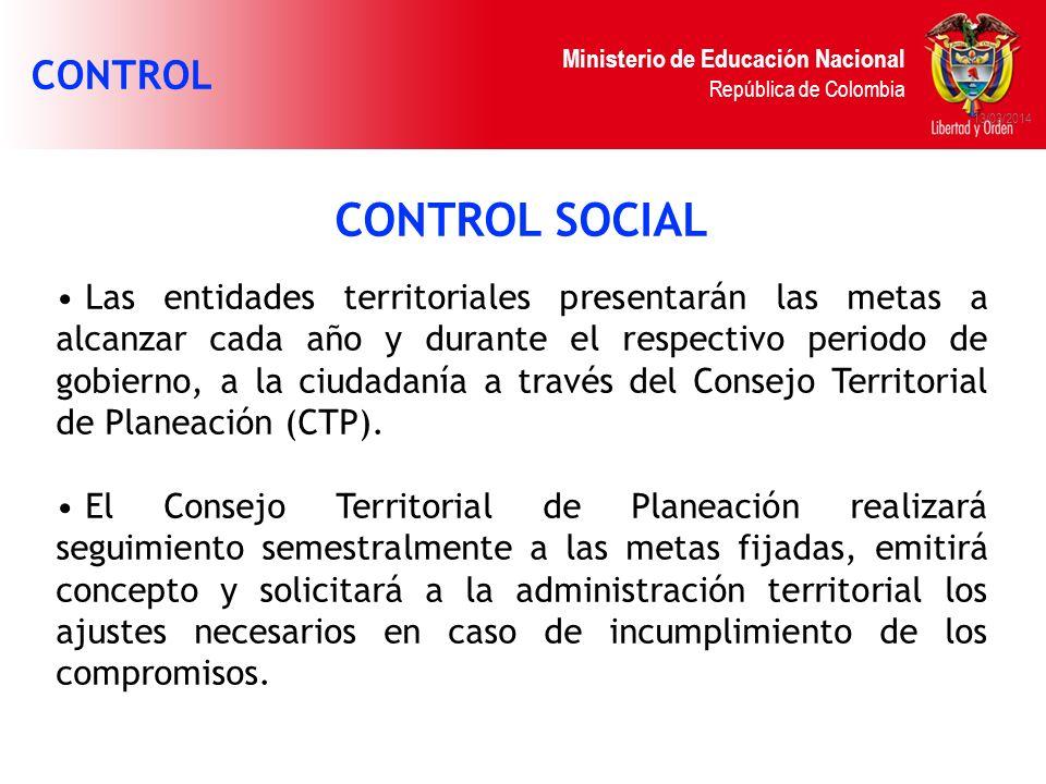 CONTROL SOCIAL CONTROL