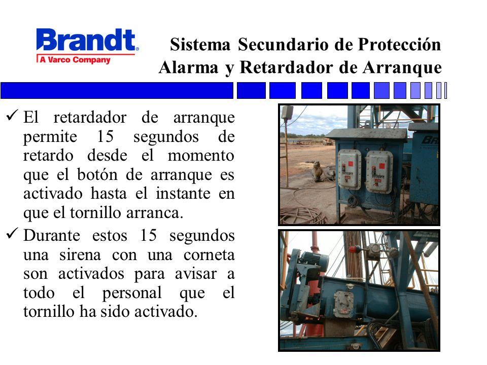 Sistema Secundario de Protección Alarma y Retardador de Arranque
