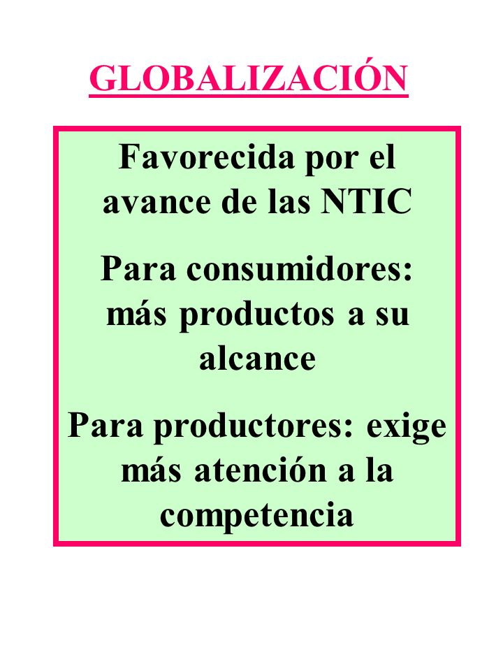 Favorecida por el avance de las NTIC