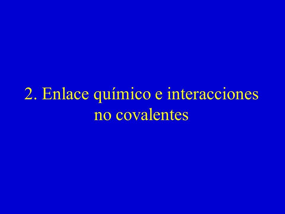 2. Enlace químico e interacciones