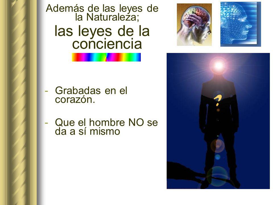 las leyes de la conciencia