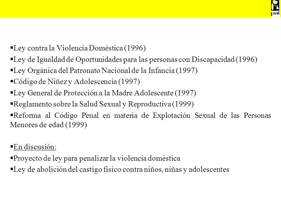 Ley contra la Violencia Doméstica (1996)