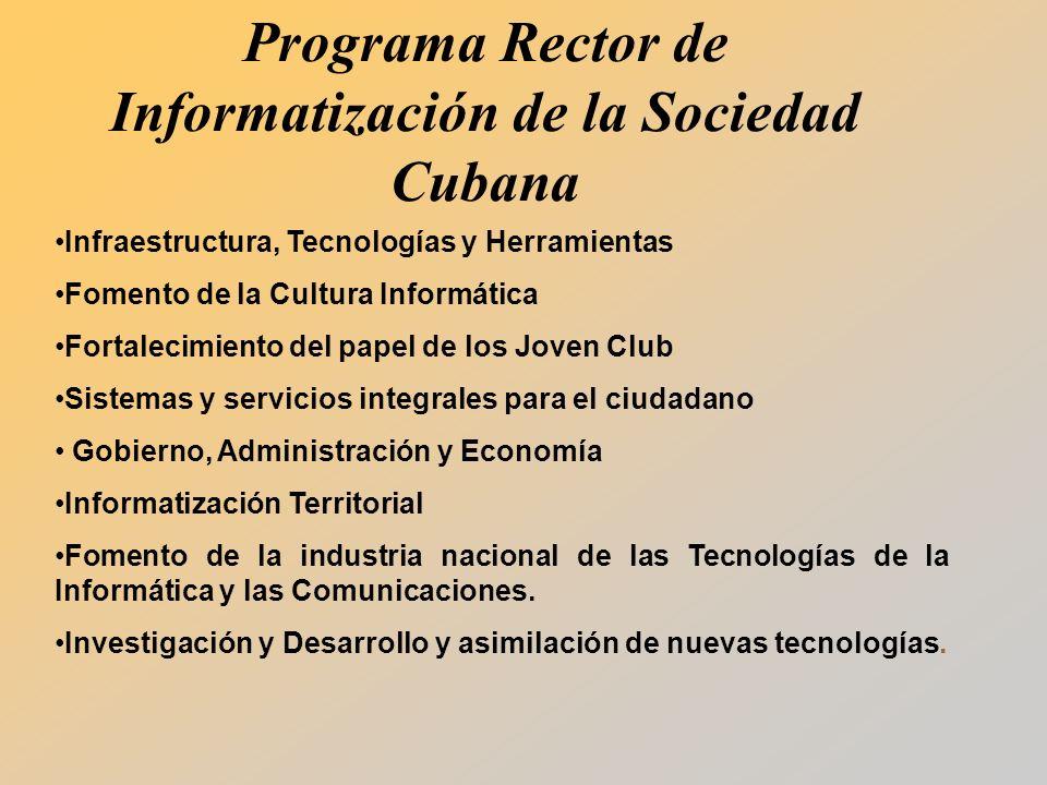 Programa Rector de Informatización de la Sociedad Cubana