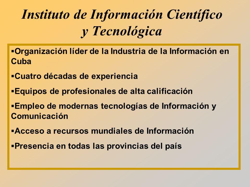 Instituto de Información Científico y Tecnológica