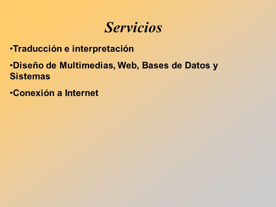 Servicios Traducción e interpretación
