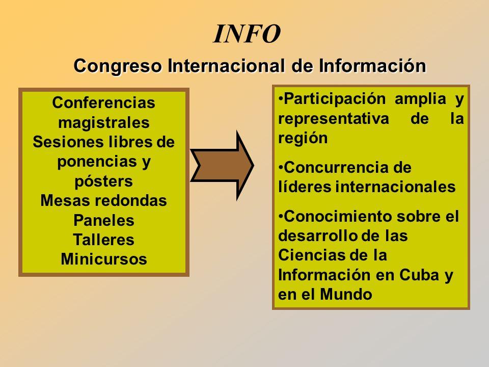 INFO Congreso Internacional de Información