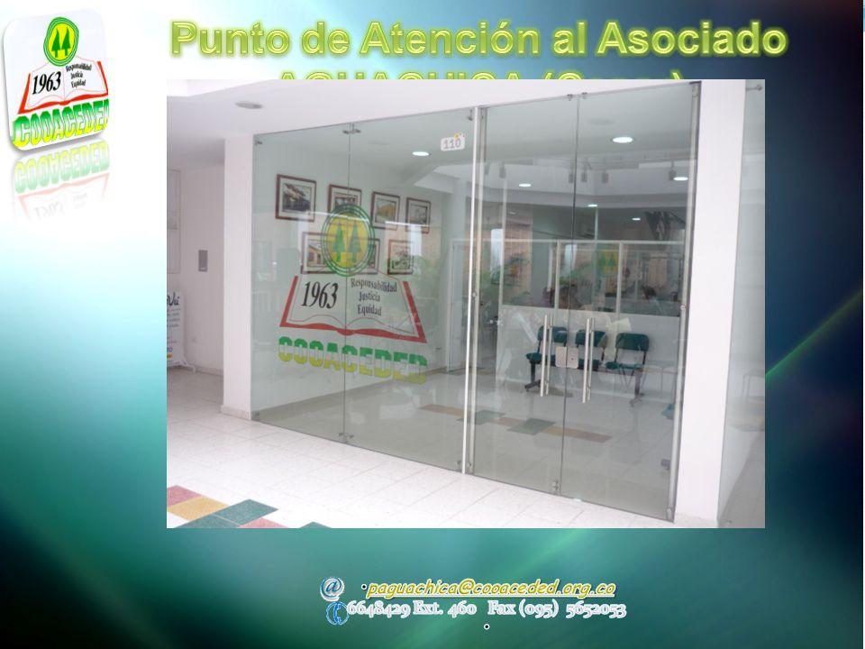 Punto de Atención al Asociado AGUACHICA (Cesar)