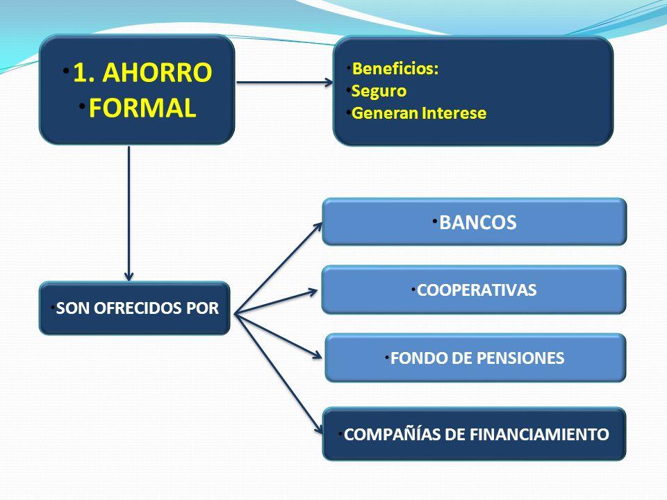 COMPAÑÍAS DE FINANCIAMIENTO