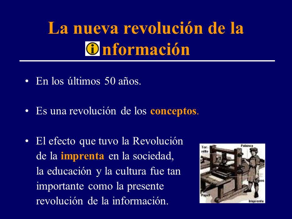 La nueva revolución de la nformación