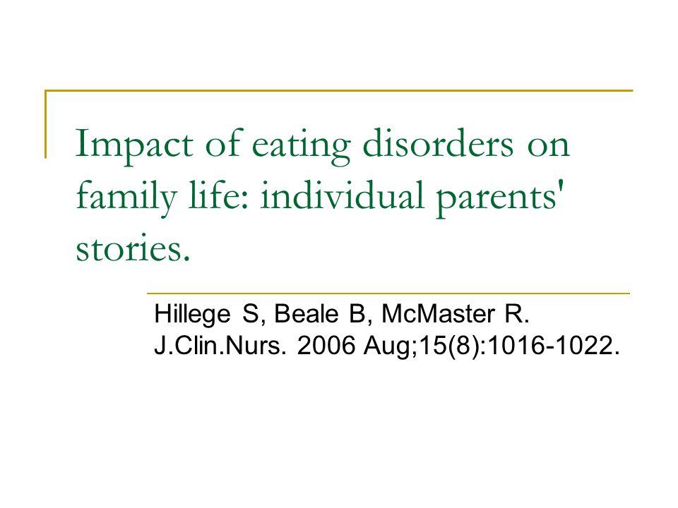 Hillege S, Beale B, McMaster R. J.Clin.Nurs. 2006 Aug;15(8):1016-1022.