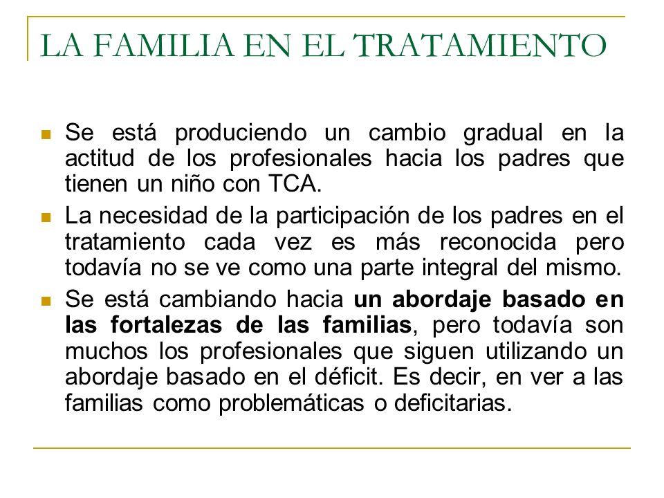 LA FAMILIA EN EL TRATAMIENTO