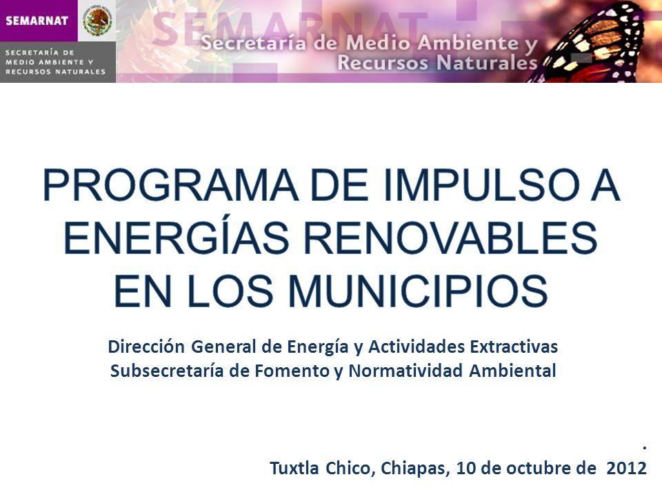 PROGRAMA DE IMPULSO A ENERGÍAS RENOVABLES EN LOS MUNICIPIOS