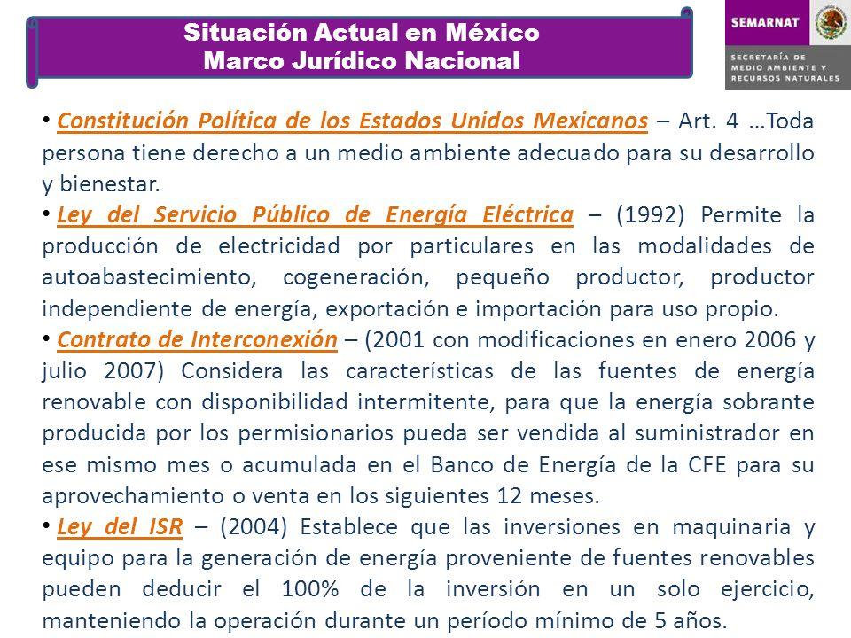 Situación Actual en México