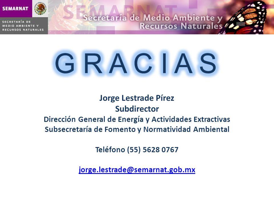 G R A C I A S Jorge Lestrade Pírez Subdirector