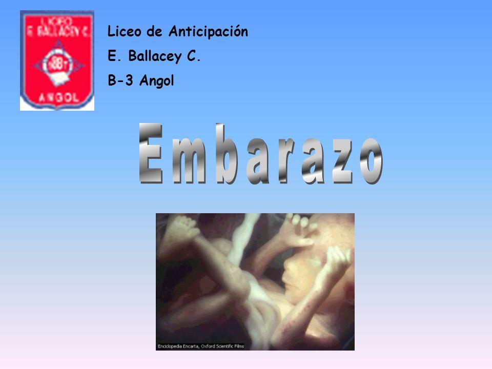 Liceo de Anticipación E. Ballacey C. B-3 Angol Embarazo