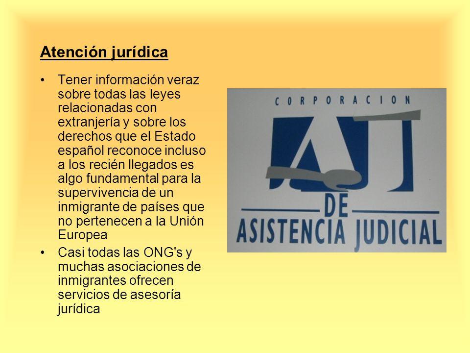 Atención jurídica