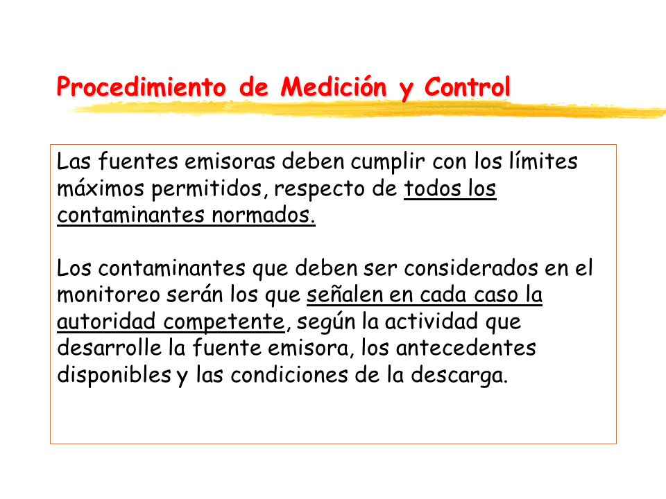 Procedimiento de Medición y Control