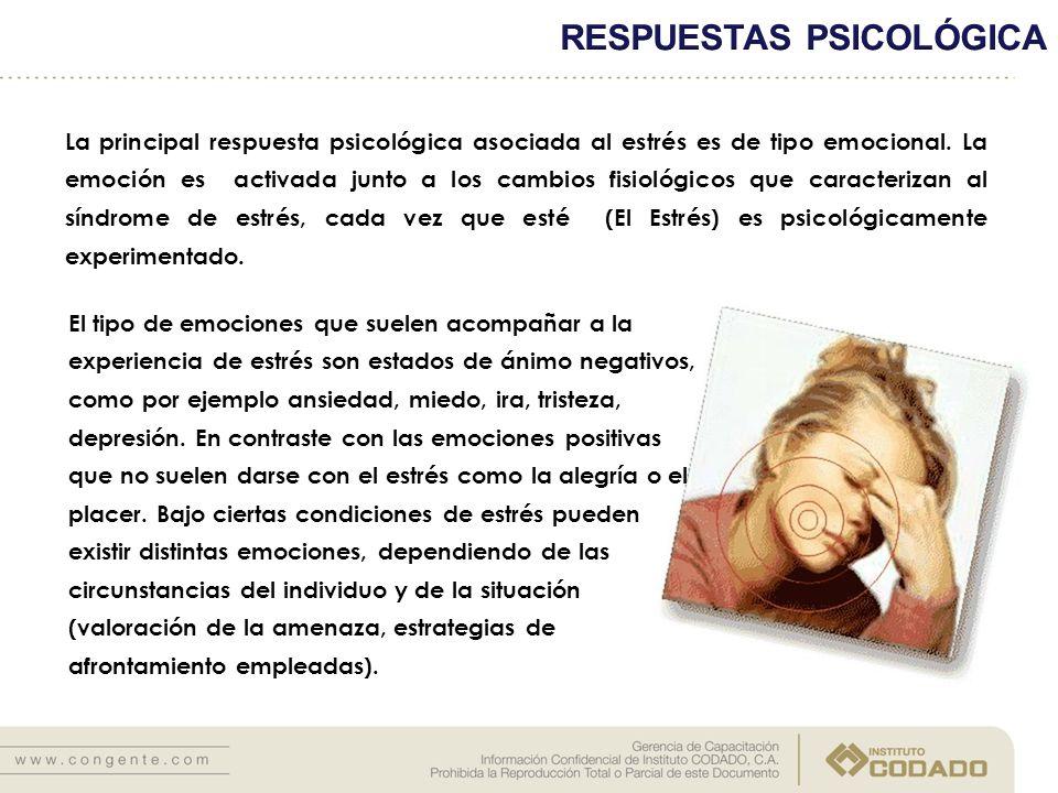 RESPUESTAS PSICOLÓGICA