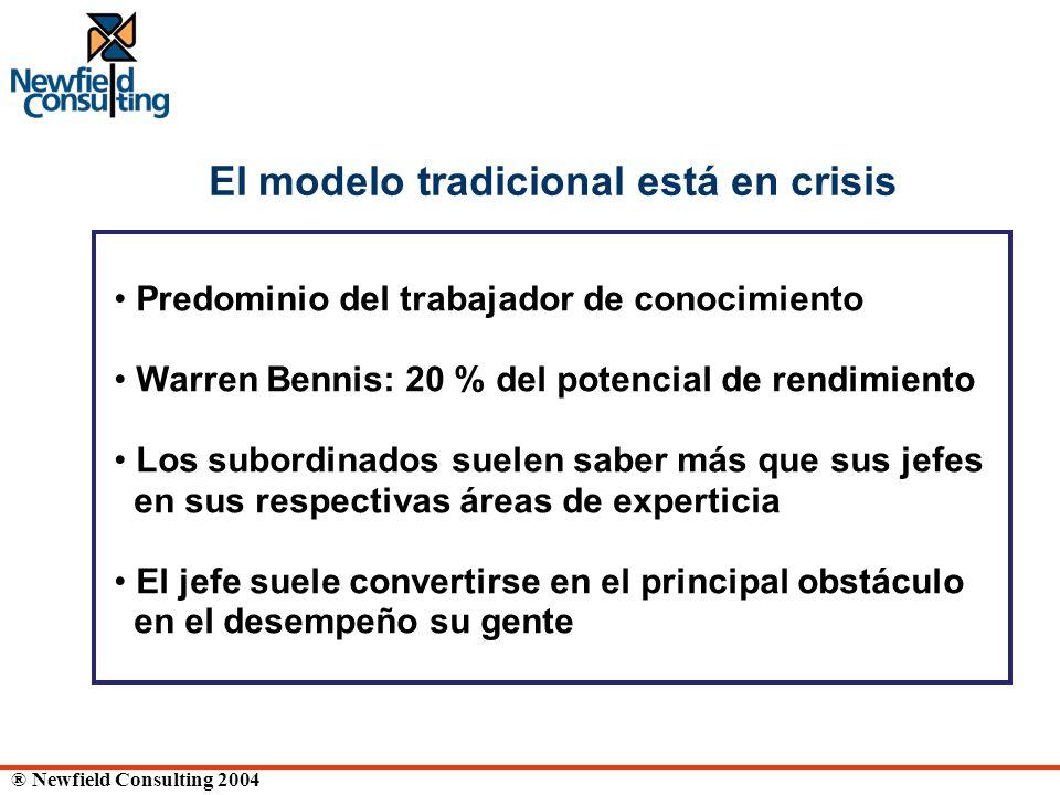 El modelo tradicional está en crisis