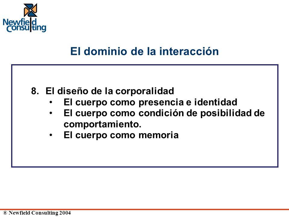 El dominio de la interacción