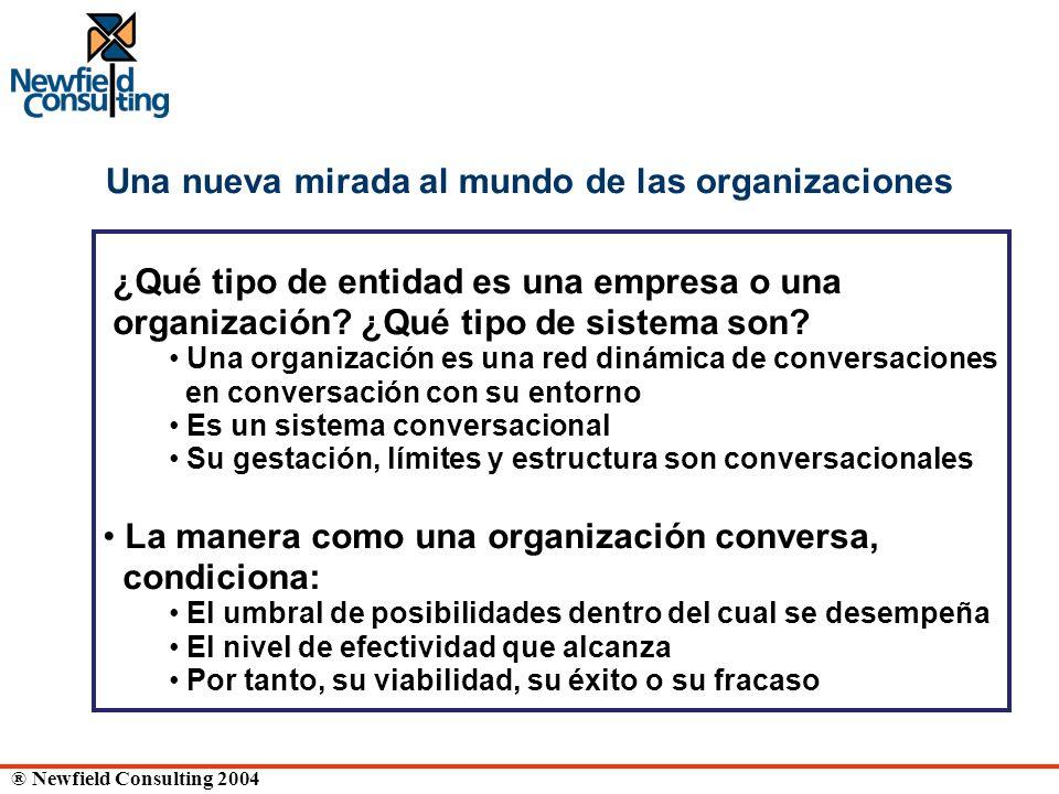 Una nueva mirada al mundo de las organizaciones