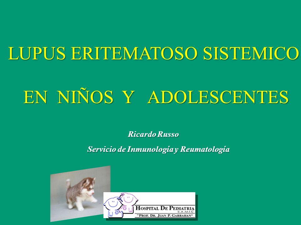 Servicio de Inmunología y Reumatología
