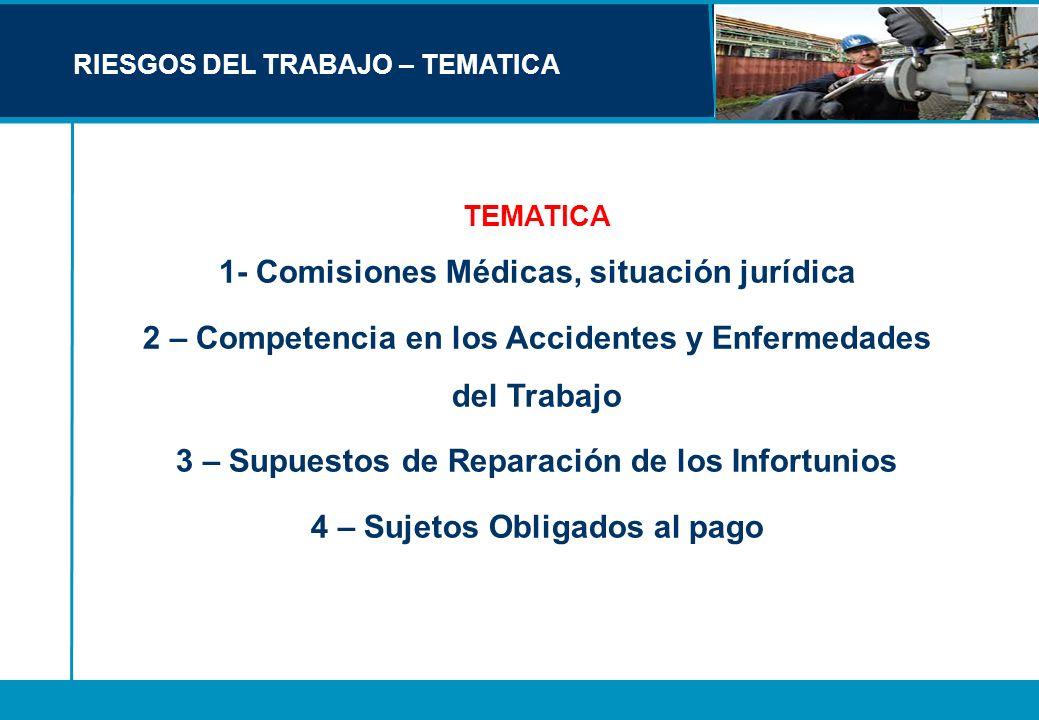 1- Comisiones Médicas, situación jurídica