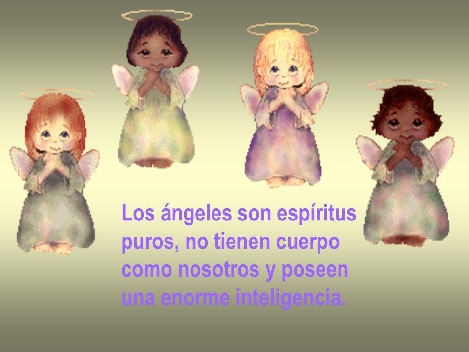 Los ángeles son espíritus