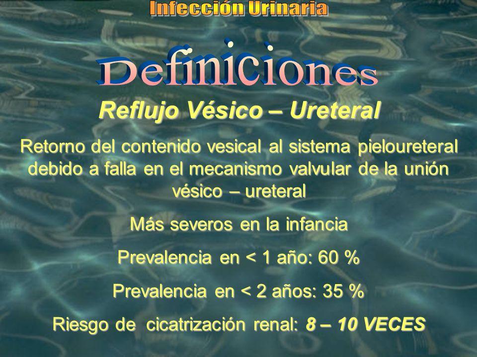 Reflujo Vésico – Ureteral