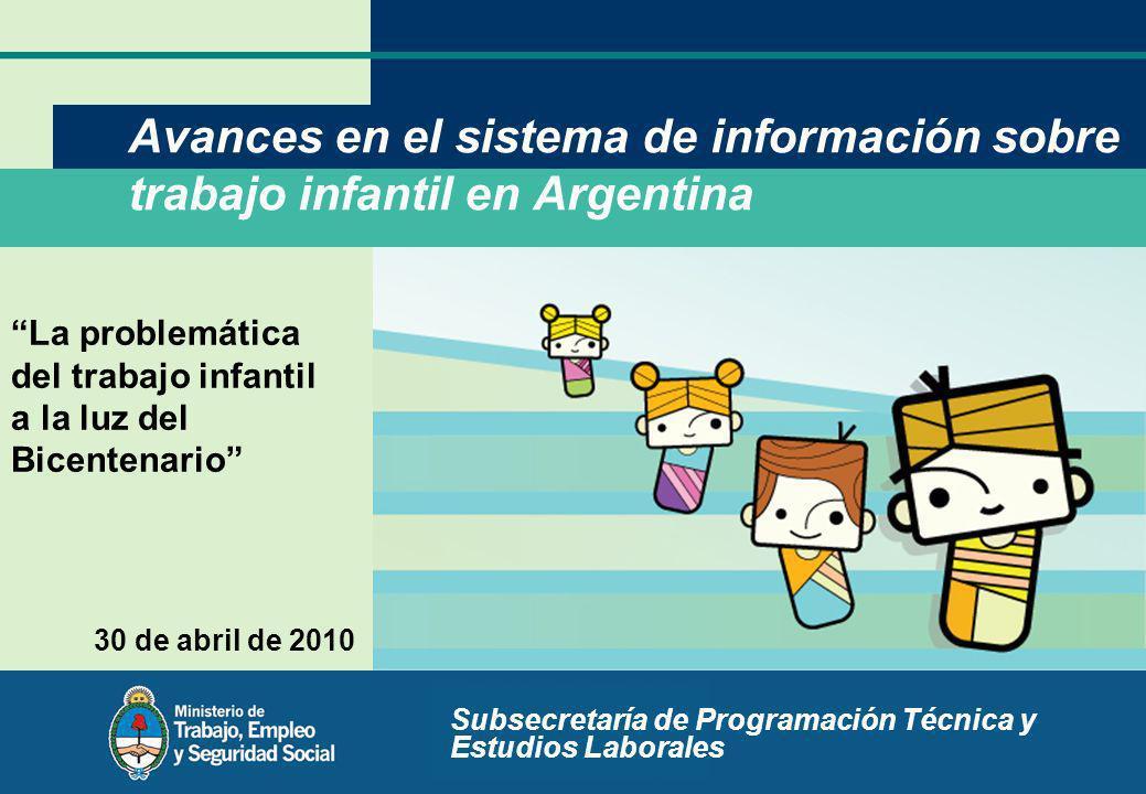 Subsecretaría de Programación Técnica y Estudios Laborales