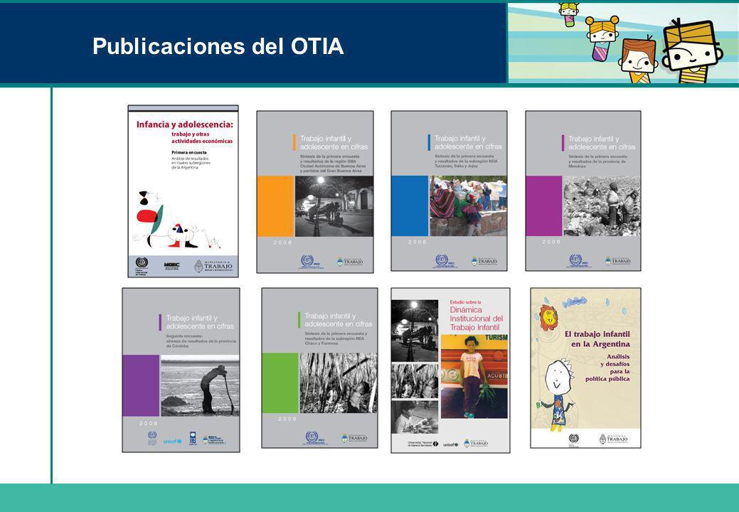 Publicaciones del OTIA