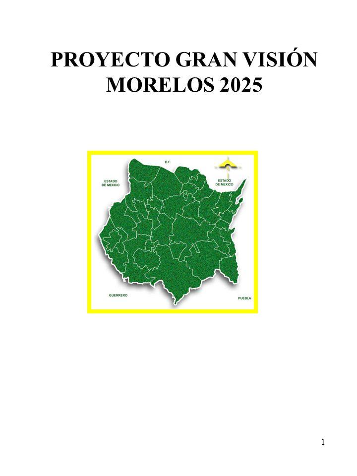 PROYECTO GRAN VISIÓN MORELOS 2025