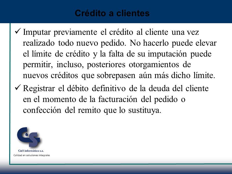 Crédito a clientes