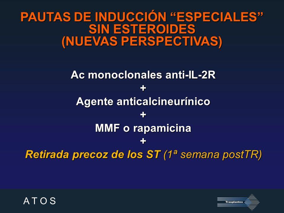 PAUTAS DE INDUCCIÓN ESPECIALES SIN ESTEROIDES (NUEVAS PERSPECTIVAS)