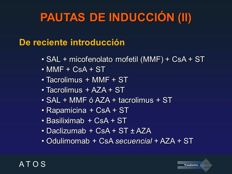 PAUTAS DE INDUCCIÓN (II)
