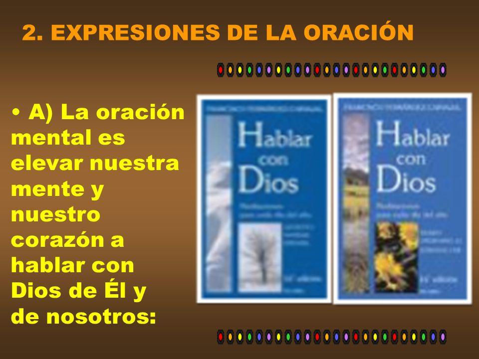 2. EXPRESIONES DE LA ORACIÓN