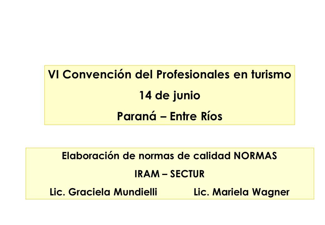 VI Convención del Profesionales en turismo 14 de junio