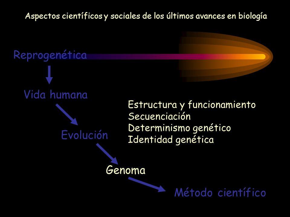Aspectos científicos y sociales de los últimos avances en biología