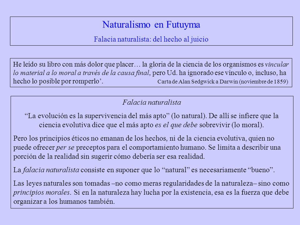 Naturalismo en Futuyma