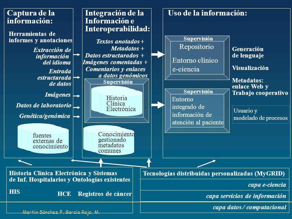 Captura de la información: Integración de la Información e