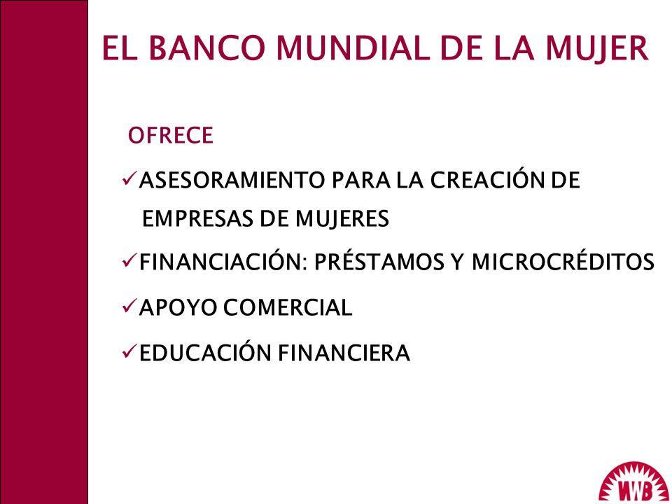 EL BANCO MUNDIAL DE LA MUJER