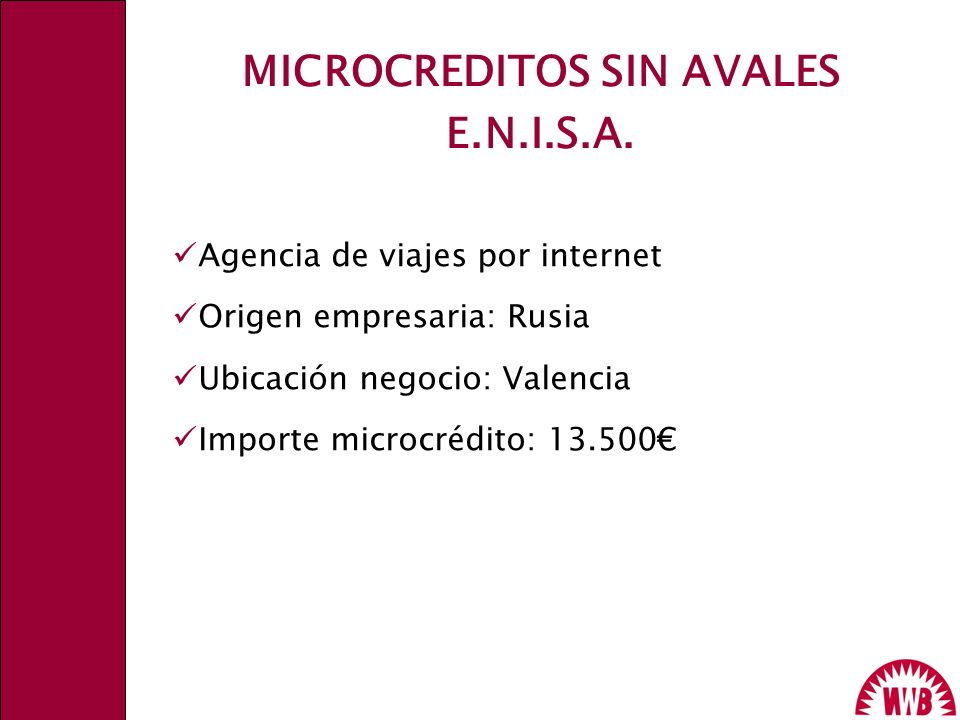 MICROCREDITOS SIN AVALES