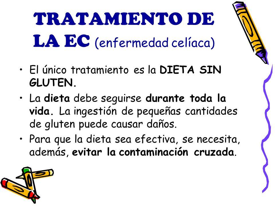 TRATAMIENTO DE LA EC (enfermedad celíaca)