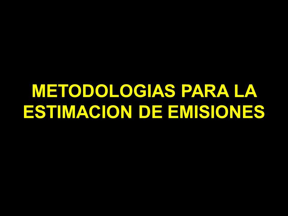 ESTIMACION DE EMISIONES