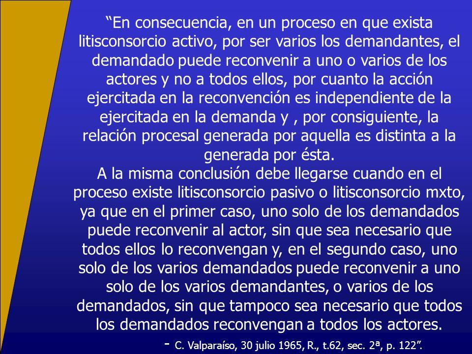 - C. Valparaíso, 30 julio 1965, R., t.62, sec. 2ª, p. 122 .