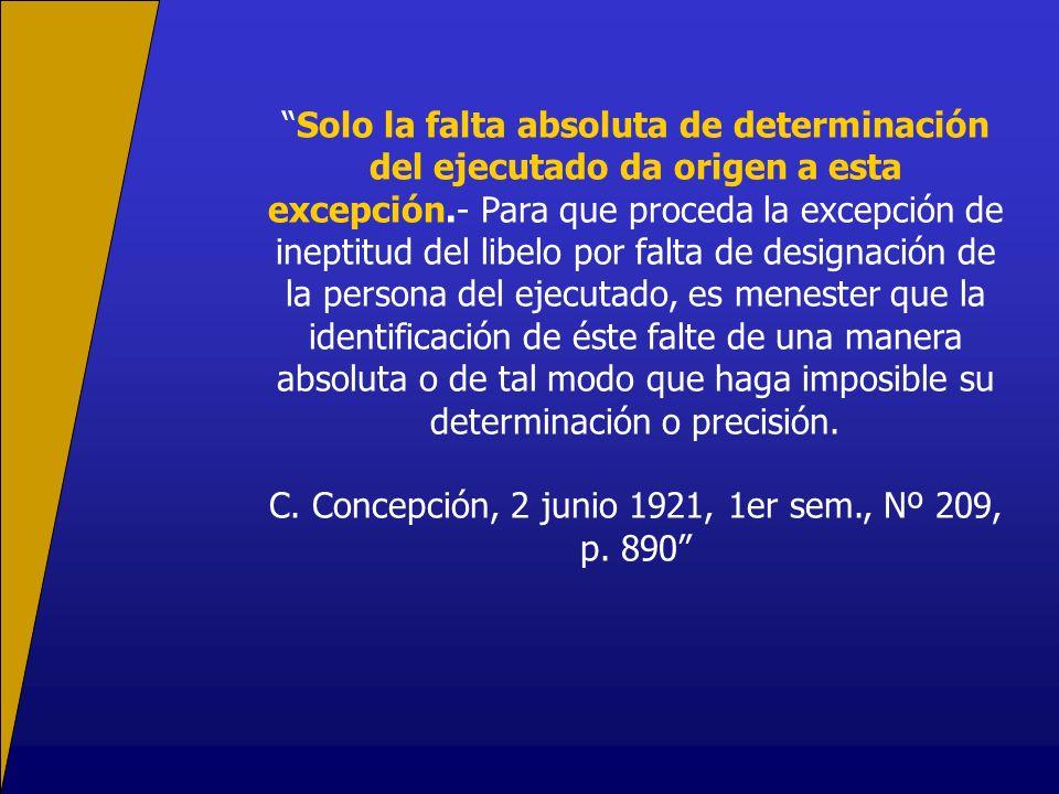C. Concepción, 2 junio 1921, 1er sem., Nº 209, p. 890