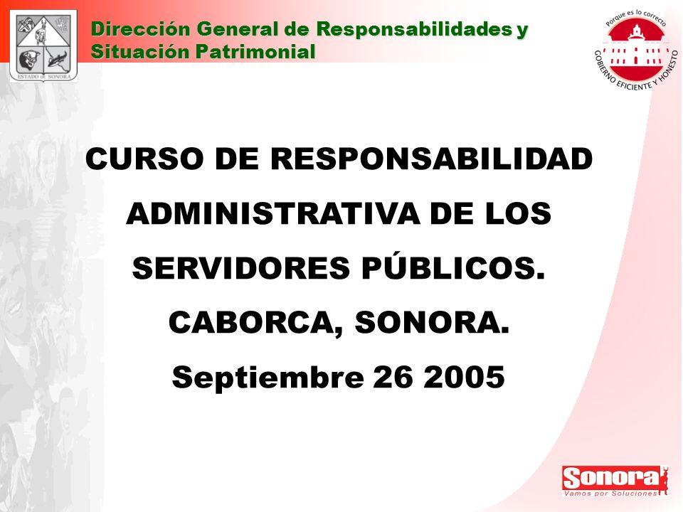 CURSO DE RESPONSABILIDAD