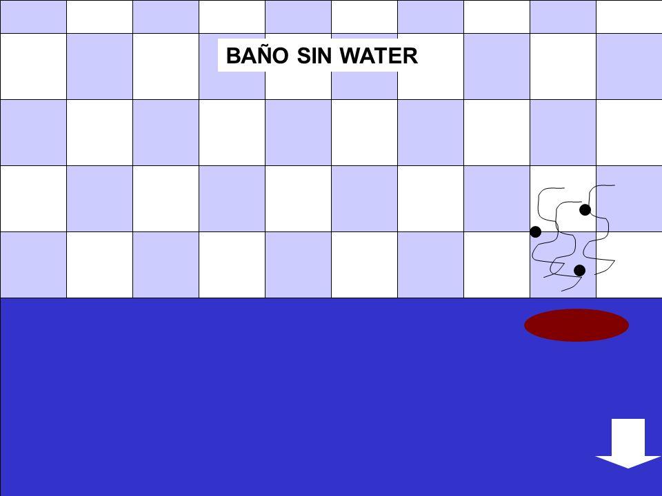 BAÑO SIN WATER