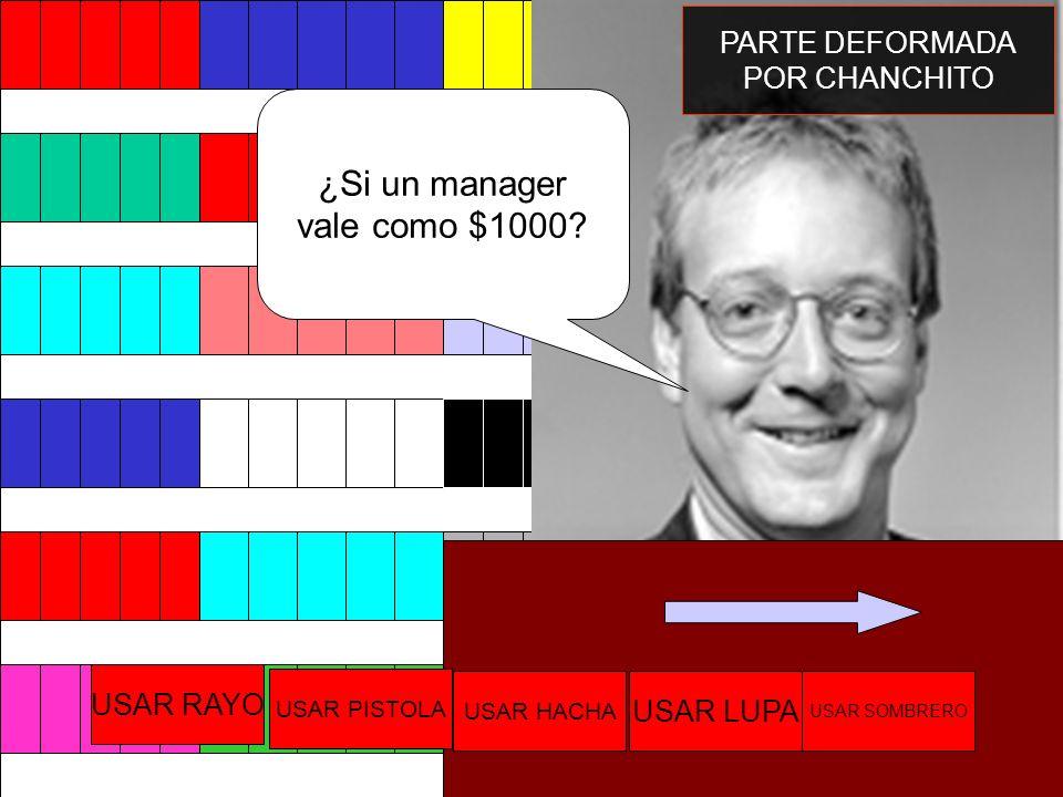 ¿Si un manager vale como $1000 PARTE DEFORMADA POR CHANCHITO