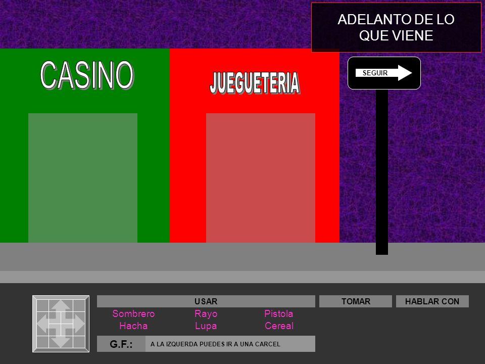 CASINO JUEGUETERIA ADELANTO DE LO QUE VIENE G.F.: Sombrero Rayo